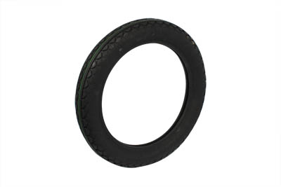 "V-Twin 46-0007 - Replica Black Diamond Tire 4.00"" X 19"" Blackwal"
