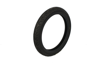 "V-Twin 46-0075 - Dunlop D401 Elite S/T 90/90H X 19"" Blackwall"