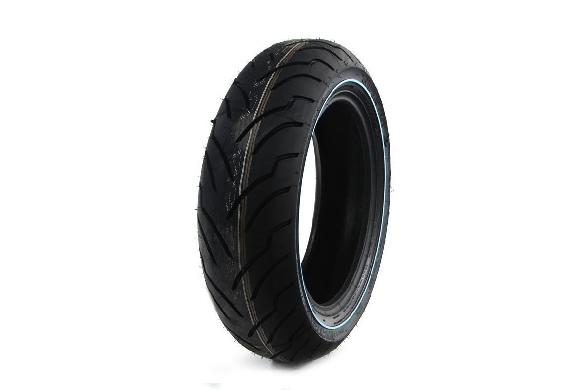 "V-Twin 46-0245 - Dunlop American Elite 180/60B x 16"" Narrow Whit"