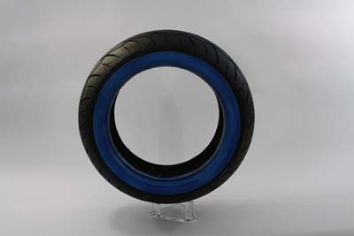 "V-Twin 46-0453 - Vee Rubber 200/55HR X 17"" Whitewall Tire"