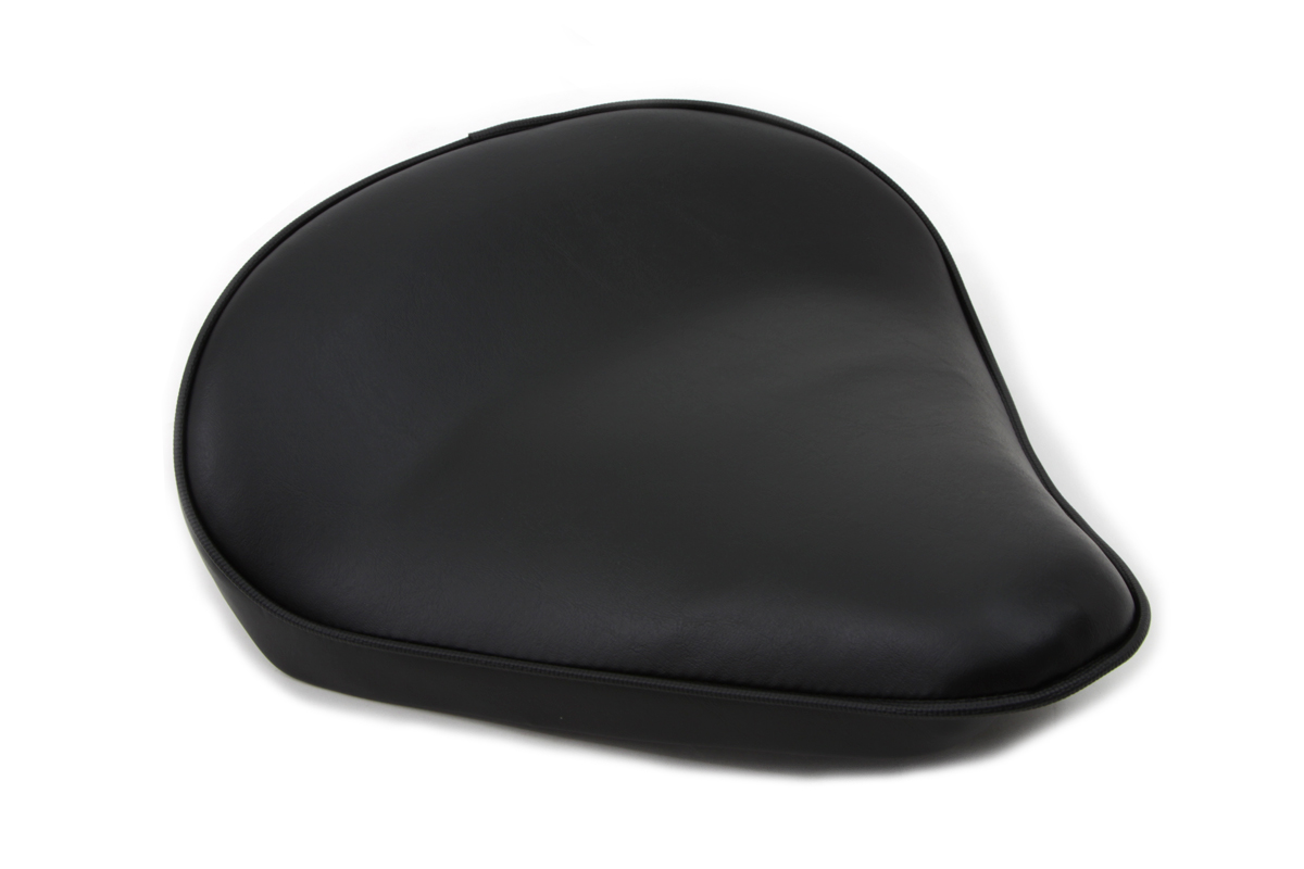 V-Twin 47-0055 - Black Smooth Solo Seat Large
