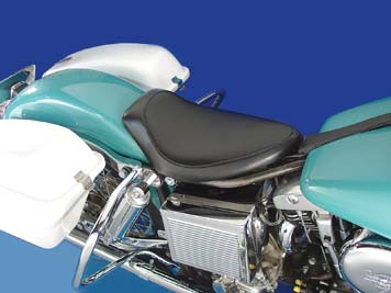 Black Smooth Solo Seat Small V-Twin 47-0071