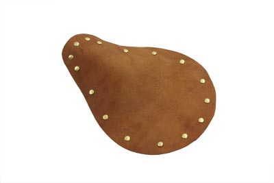 V-Twin 47-0779 - Bare Bones Brown Leather Solo Seat