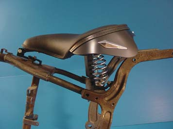 V-Twin 47-0801 - Solo Seat with Mount Kit