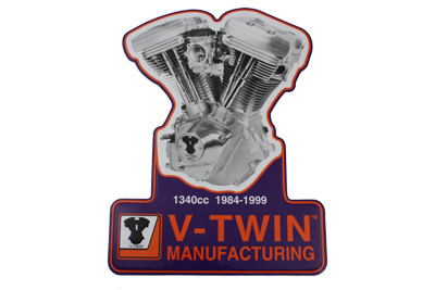 V-Twin 48-0030 - 1340 Evolution Plaque