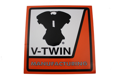 V-Twin 48-0164 - V-Twin Dealer Decal