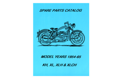 V-Twin 48-0306 - Spare Parts Book for XL