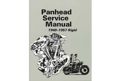 V-Twin 48-0307 - Factory Service Manual for Panhead and Rigid