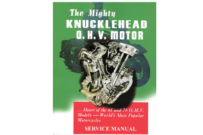 V-Twin 48-0308 - Factory Service Manual for Knucklehead