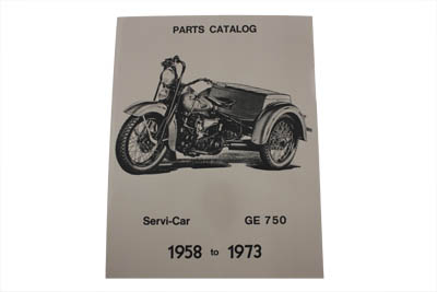 V-Twin 48-0319 - Servi-Car Parts Book