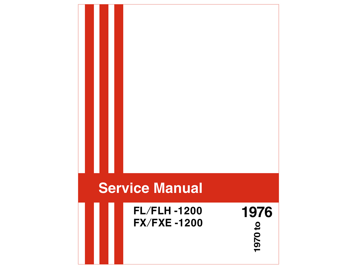 V-Twin 48-0477 - Factory Service Manual for FL and FX