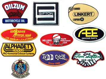 VINTAGE BRANDS PATCH SERIES VTWIN 48-0543