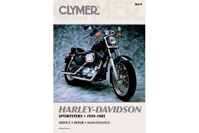 V-Twin 48-0587 - Clymer Repair Manual for XL