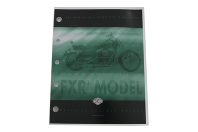 V-Twin 48-0592 - Factory Spare Parts Book for FXR (Stock 3)