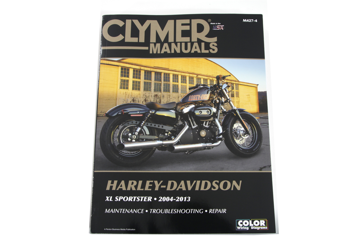 V-Twin 48-0598 - Clymer Repair Manual for XL