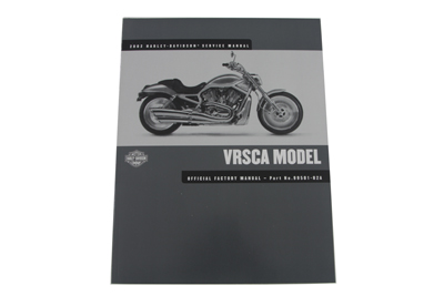 V-Twin 48-0615 - Factory Service Manual for VRSC