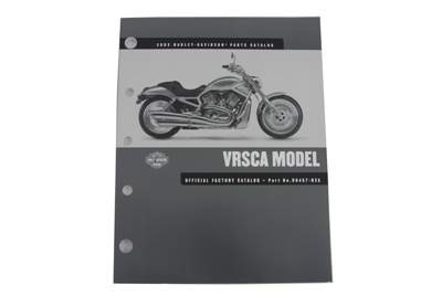 V-Twin 48-0617 - Factory Spare Parts Book for VRSC