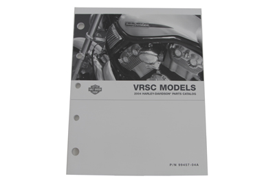 V-Twin 48-0621 - Factory Spare Parts Book for VRSC