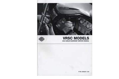 V-Twin 48-0629 - OE Factory Service Manual for VRSC