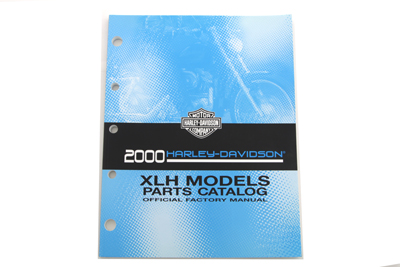 V-Twin 48-0677 - Factory Spare Parts Book for XL