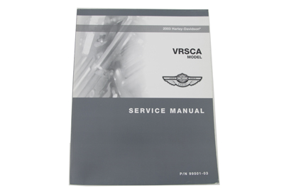 V-Twin 48-0717 - Factory Service Manual for VRSC