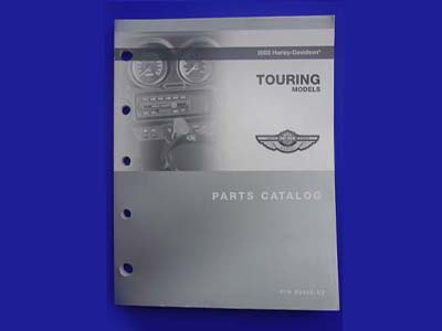 V-Twin 48-0718 - Factory Spare Parts Book for FLT