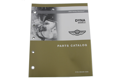 V-Twin 48-0719 - Factory Spare Parts Book for FXD
