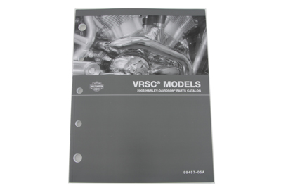 V-Twin 48-0730 - Factory Spare Parts book for VRSC