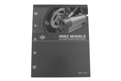 V-Twin 48-0768 - Factory Spare Parts Book for VRSC