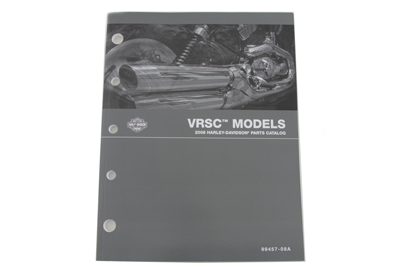 V-Twin 48-0773 - Factory Spare Parts Book for VRSC