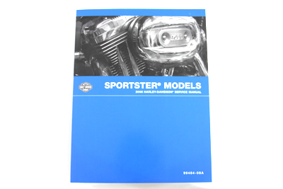 V-Twin 48-0778 - Factory Service Manual for XL