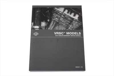 V-Twin 48-1298 - OE Service Manual for VRSC