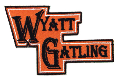 V-Twin 48-1338 - Wyatt Gatling Patches