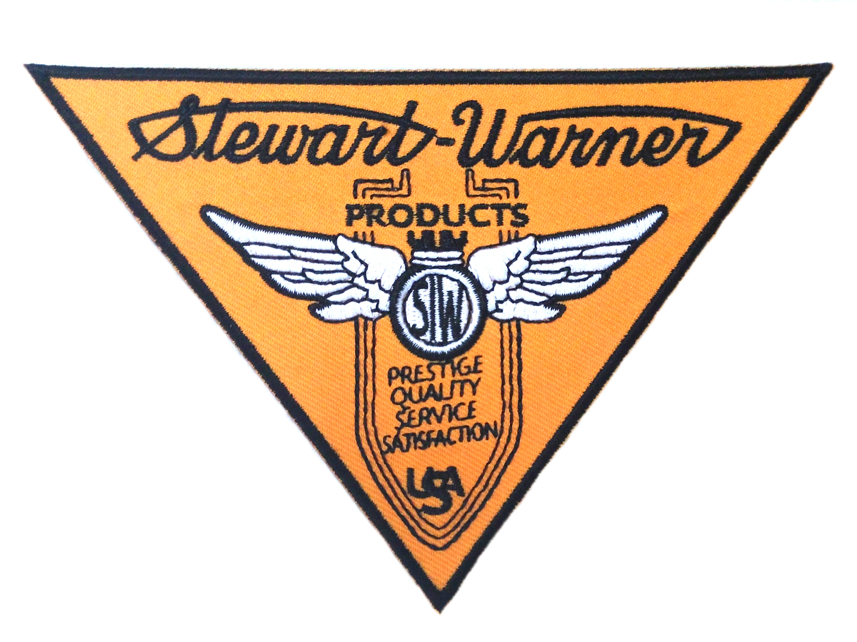 V-Twin 48-1359 - Stewart Warner Patches