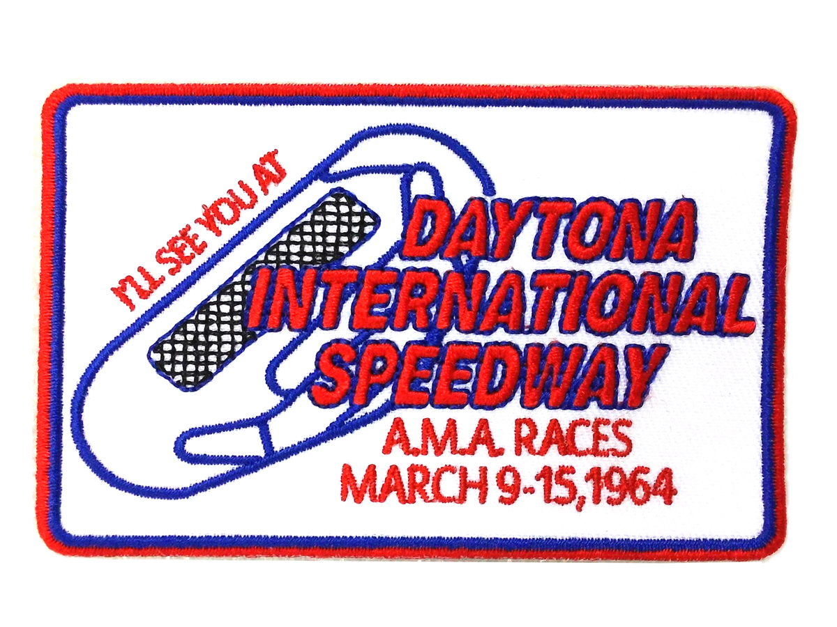 V-Twin 48-1486 - Daytona Race Patches