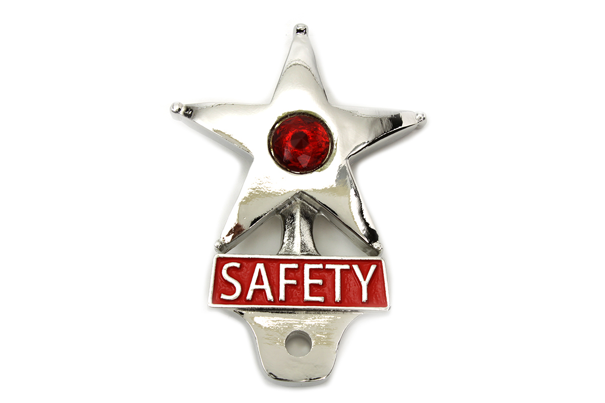 V-Twin 48-1608 - Safety License Plate Topper