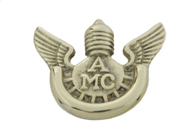 V-Twin 48-1644 - AMCA Style License Plate Topper
