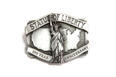 V-Twin 48-1660 - Liberty Belt Buckle