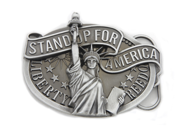 V-Twin 48-1674 - Liberty Belt Buckle