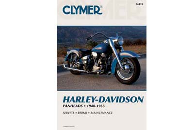 V-Twin 48-1706 - Clymer Repair Manual for Panhead