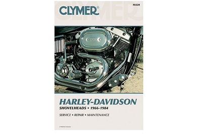 V-Twin 48-1707 - Clymer Repair Manual for Shovelhead