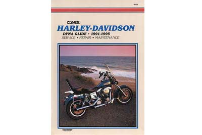 V-Twin 48-1711 - Clymer Repair Manual for All Dyna