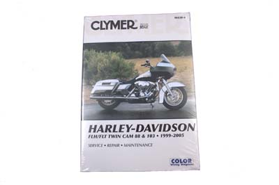 V-Twin 48-1754 - Clymer Service Manual for FLT