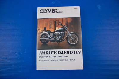 V-Twin 48-1755 - Clymer Service Manual for FXD