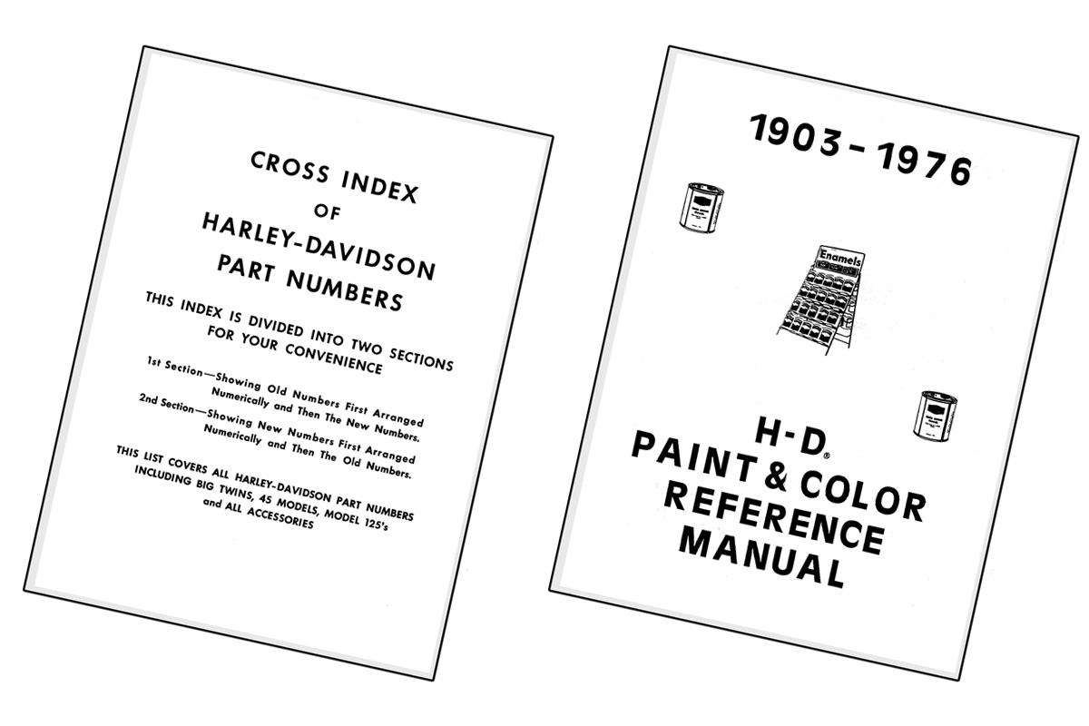 V-Twin 48-1757 - Paint and Number Reference Book