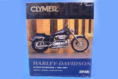 V-Twin 48-1760 - Clymer Repair Manual for XL