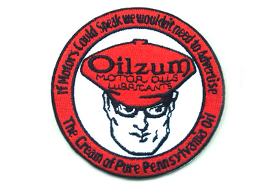 V-Twin 48-1764 - Vintage Style Oilzum Oil Patches