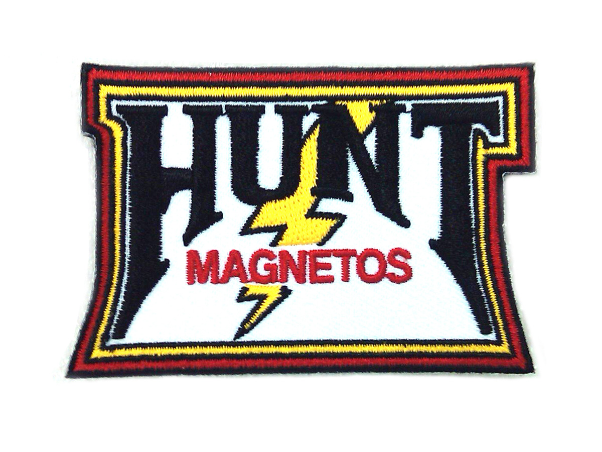 V-Twin 48-1772 - Joe Hunt Magneto Vintage Patches