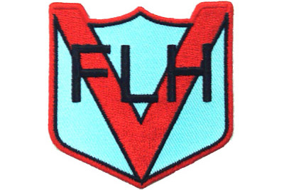 V-Twin 48-1974 - FLH Cloth Patches