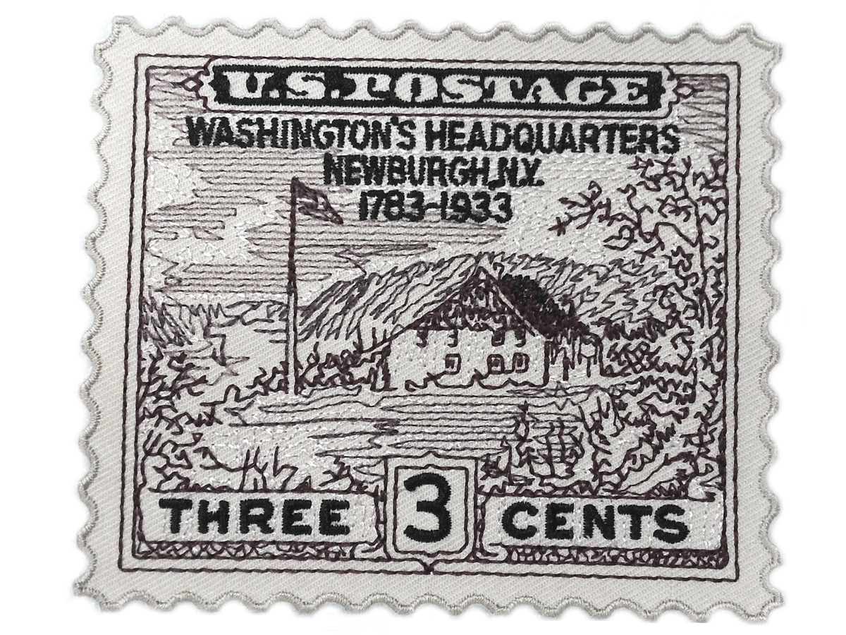 V-Twin 48-2307 - Washington Newburgh Stamp Patches